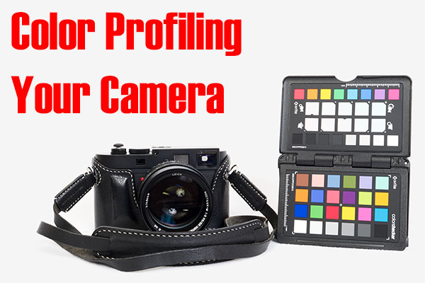 Color profiling your camera