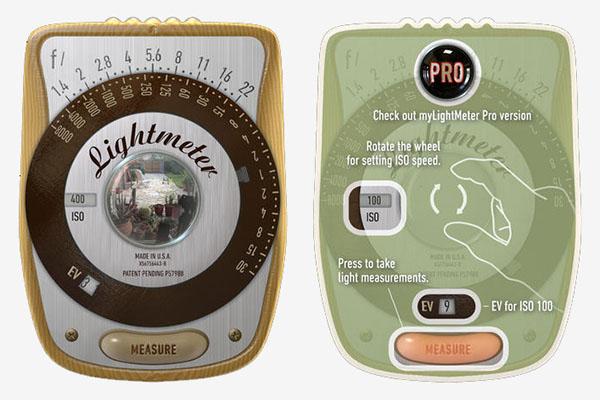 MyLightMeter App By David Quiles Design