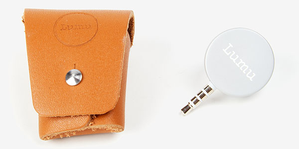 Lumu light meter and Lumubag/pouch