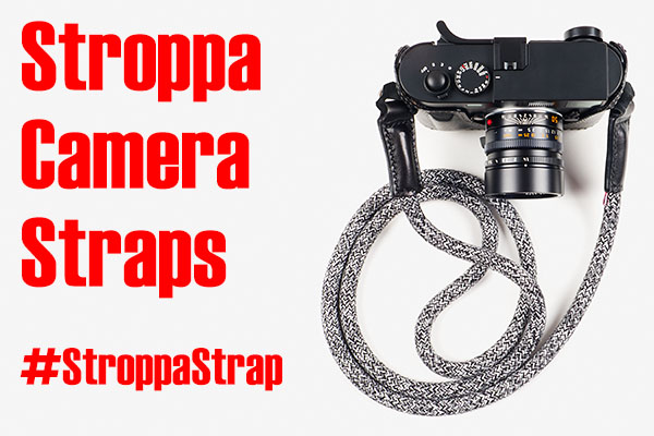 Stroppa - rope and leather camera strap review