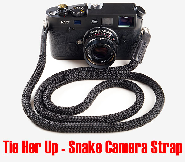 Tie Her Up - Snake Camera Strap review