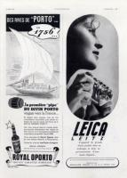 Vintage Leica Ad (French, 1939)