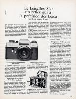 Vintage Leica Ad (French, 1971)