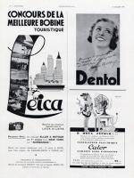 Vintage Leica Ad (French, 1935)