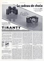 Vintage Leica Ad (French, 1933)