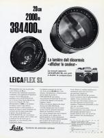 Vintage Leica Ad (French, 1968)