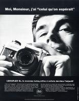 Vintage Leica Ad (French, 1969)