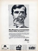 Vintage Leica Ad (French, 1966)