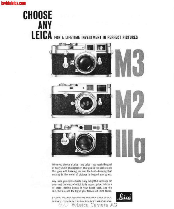 Vintage Leica Ad (English)