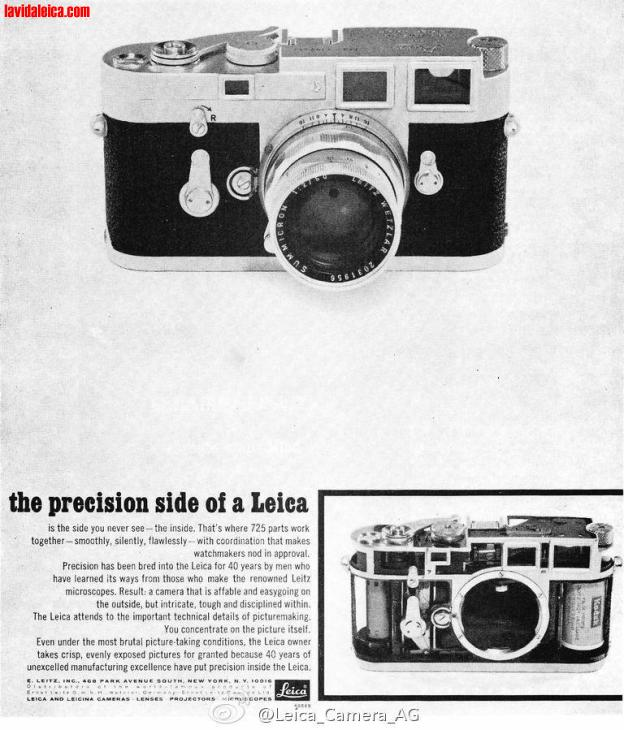 Vintage Leica Ad (English)