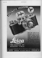 Vintage Leica Ad (English, 1936)