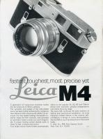 Vintage Leica Ad (English, 1968)