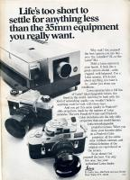 Vintage Leica Ad (English, 1969)