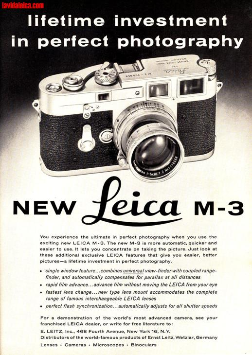 Vintage Leica Ad (English, 1964)