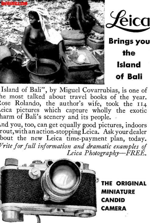 Vintage Leica Ad (English, 1938)