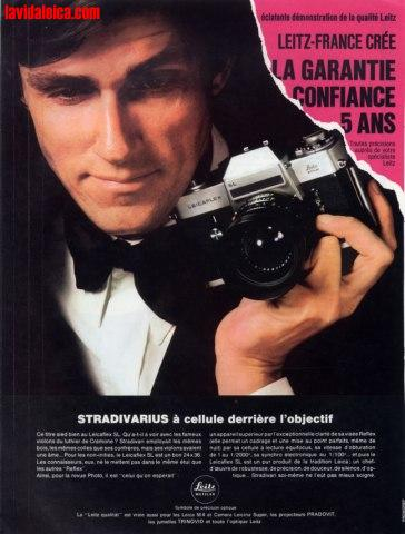Vintage Leica Ad (French, 1970)