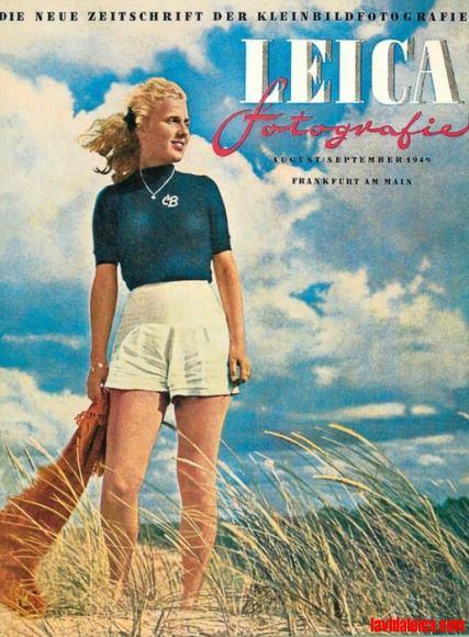 Vintage Leica Ad (German)