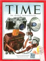 Leica IIIf - Time magazine - November 1953