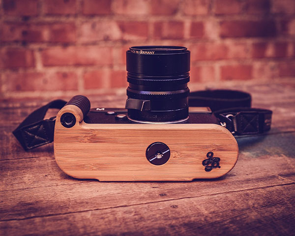 J.B. Camera Designs Pro Bamboo Grip for Leica M240