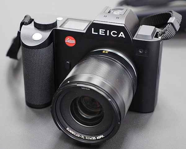 Leica SL (Type 601) and prototype Summilux-TL 35mm f/1.4 ASPH lens