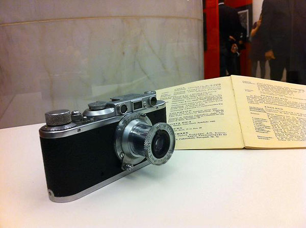The Leica used by Wulf-Diether Graf zu Castell-Rudenhausen over China