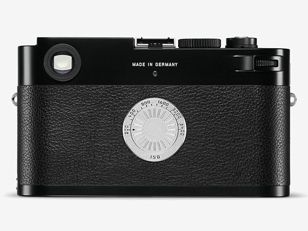 Leica M-D (Type 262) rear view