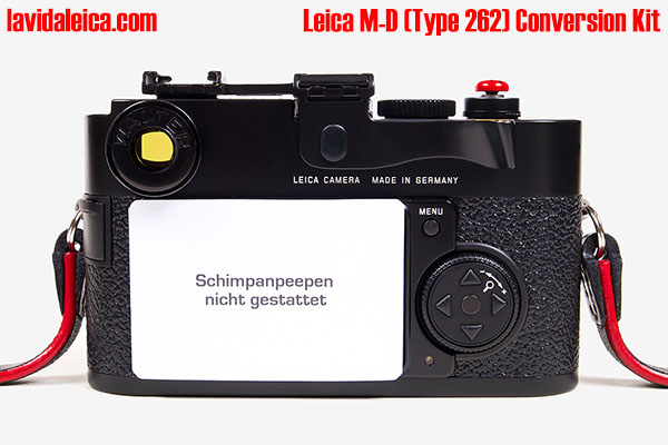 Pro Leica M-D (Type 262) Conversion Kit
