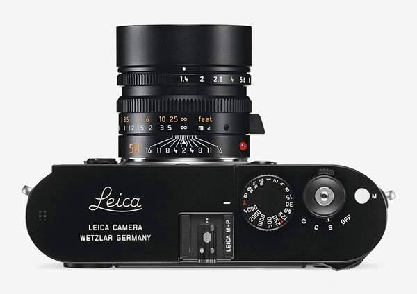 Leica M-P top view