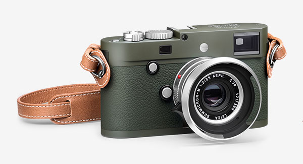 Leica Camera M-P (Type 240) Safari Edition - angle