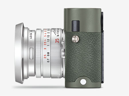 Leica Camera M-P (Type 240) Safari Edition - left