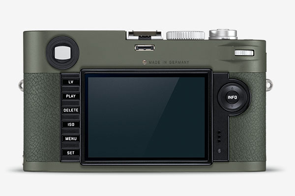 Leica Camera M-P (Type 240) Safari Edition - rear