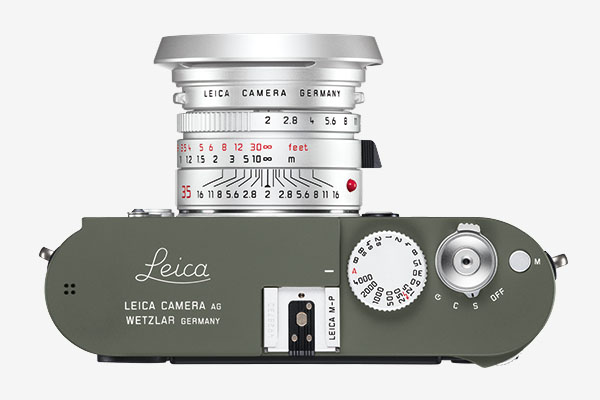 Leica Camera M-P (Type 240) Safari Edition - top