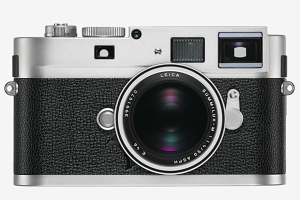Leica M Monochrom in silver finish
