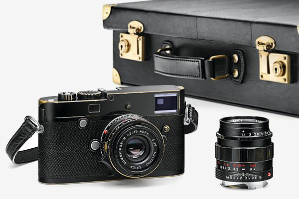 Lenny Kravitz Edition Leica M, close-up view