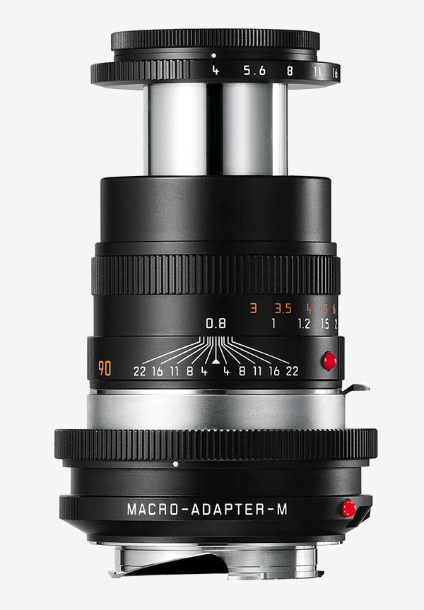 Leica Macro-Elmar-M 90mm f/4 and Macro-Adapter-M